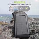 太陽能行動電源 24000mAh太陽能充電寶行動電源 【快速出貨八折搶購】