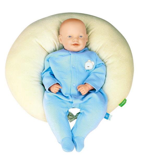 舒適牌  哺乳安眠枕(有機棉) 台灣製