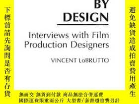 二手書博民逛書店By罕見Design: Interviews With Film