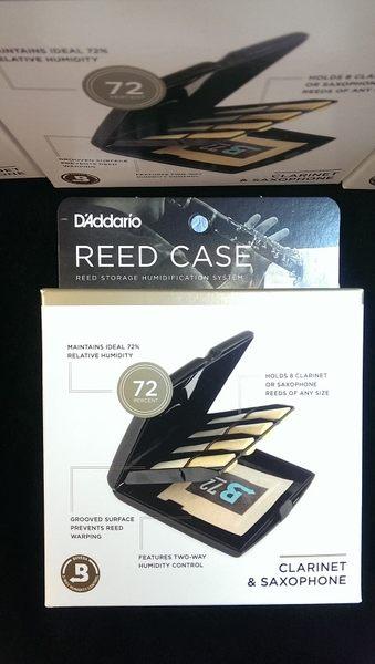 【金聲樂器】RICO REED CASE 2016 新款 單簧管 薩克斯風 豎笛 黑管 竹片盒 恆濕盒 保濕 竹片