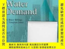 二手書博民逛書店Forecasting罕見Urban Water DemandY307751 R. Bruce Billing