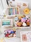 書箱收納箱裝書本可愛高中教室家用學生整理摺疊放書籍的儲物盒子 樂活生活館