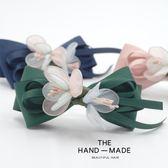 日韓國頭飾頂夾子發卡彈簧夾發夾一字夾成人文藝花朵發飾品 熊貓本