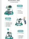 嬰兒學步車防o型腿多功能防側翻5-18月可坐可推學行車兒童手推車 幸福第一站