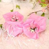 糖袋子結婚喜糖盒子創意手提婚禮歐式糖果包裝袋喜糖袋子婚慶用品【快速出貨限時八折】