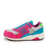 New Balance MRT580WJ D [MRT580WJ] 男鞋 休閒 經典 運動 粉紅 水藍 總統