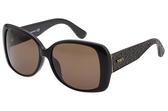 TOD'S 方框 粗版鏡腳 太陽眼鏡 (黑色)TO9085