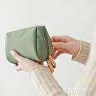 化妝包風超火化妝袋簡約便攜隨身口紅包小號手拿包小方包『艾麗花園』