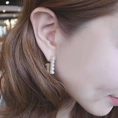 [協貿國際]  韓版飾品珍珠耳釘耳環 (2個價)