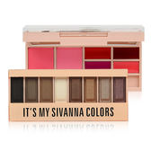 Sivanna HF-555 繽紛花祭炫彩組合盤 18g 眼影/唇彩/腮紅 ◆86小舖 ◆