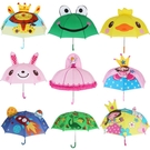 兒童雨傘幼兒園創意可愛卡通傘公主傘男女寶寶傘迷你小孩小童傘 NMS蘿莉新品