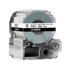 【高士資訊】EPSON 50mm LK-9WBVN 耐久型 白底黑字 原廠 盒裝 防水 標籤帶