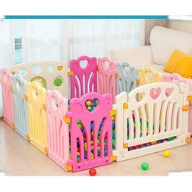麻麻乖寶貝 ST認證 兒童圍欄 遊戲圍欄 護欄 柵欄 門欄 遊戲池12片(10小+2大)-0016