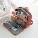 大容量旅行干濕分離化妝包手提洗漱包便攜多功能隨身簡約行李袋女 全館免運