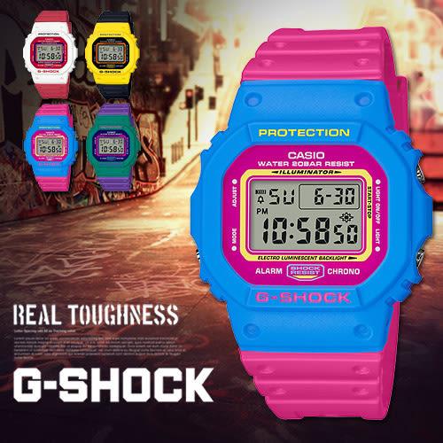 【熱銷款】G-SHOCK 炫彩潮流男錶 DW-5600TB-4B 卡西歐 DW-5600TB-4BDR