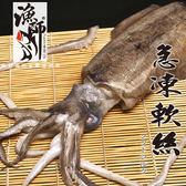極鮮活凍霸王 軟絲 ( 550g±10%_尾 )【漁師】