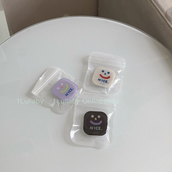 韓國ins笑臉小熊奶酪折疊支架