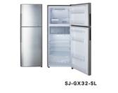 SHARP 夏普 SJ-GX32-SL 銀色 315L 變頻雙門冰箱
