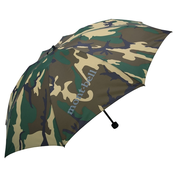 [好也戶外] mont‧bell Camouflage Watch 迷彩輕量雨傘 No.1128559