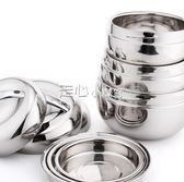 保溫飯盒不鏽鋼便當盒學生泡面碗帶蓋成人1人2層飯缸正韓雙層餐盒 走心小賣場