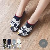 韓國襪子 滿版史努比隱形襪【K0770】