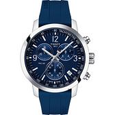 TISSOT 天梭 T-Sport系列 PRC200 競速三眼計時手錶(T1144171704700)