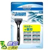 [COSCO代購] W113986 舒適創4紀鈦刮鬍組1刀把9刀片