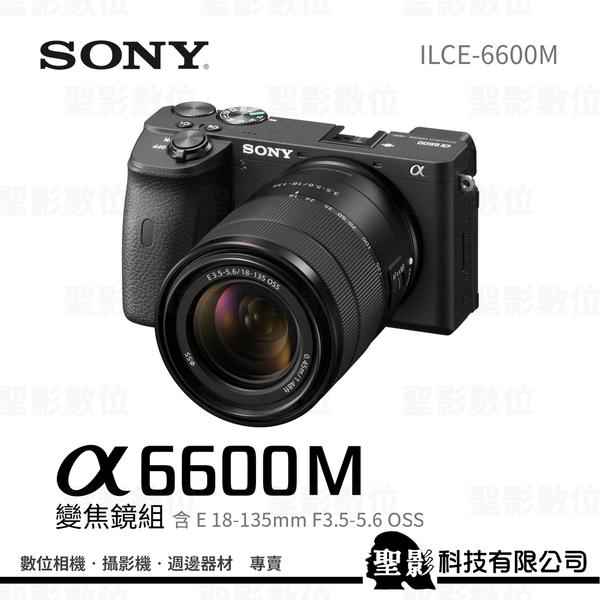 SONY ILCE-6600+SEL18135 變焦鏡組 A6600(含18-135鏡頭) 【公司貨】
