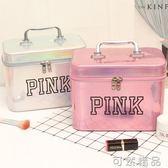 便攜化妝包ins風超火可愛女手提收納盒品大容量箱lolita網紅氣質 可然精品