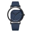 【台南 時代鐘錶 Klasse14】IMPERFECT 鏤空透視時尚腕錶 WIM20BK014M 黑/藍 40mm 送原廠替用錶帶