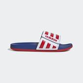 Adidas Adilette Comfort Adj [EG1346] 男女 涼鞋 拖鞋 游泳 穿搭 愛迪達 白紅藍