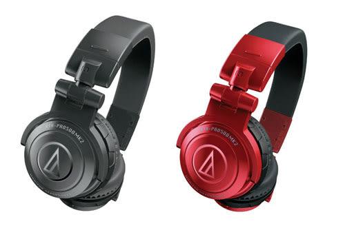 【敦煌樂器】Audio-Technica ATH-PRO500 MK2 紅色款專業型監聽耳機