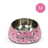 Hello Kitty 凱蒂貓 正版授權  寵物碗 繽紛寵物碗 粉底Kitty (M)  《生活美學》