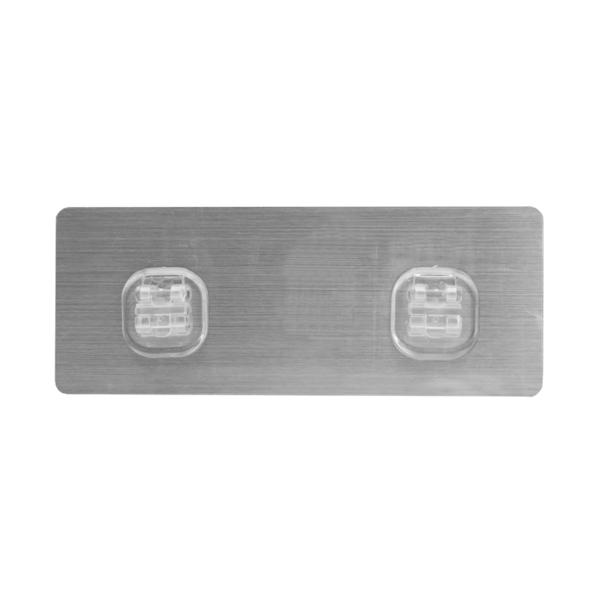 HL-02 無痕貼雙卡扣 20*7.7cm 免釘 免鑽