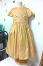 【Lovin` Sweetii】氣質小公主童洋裝~6Y-金色限量款