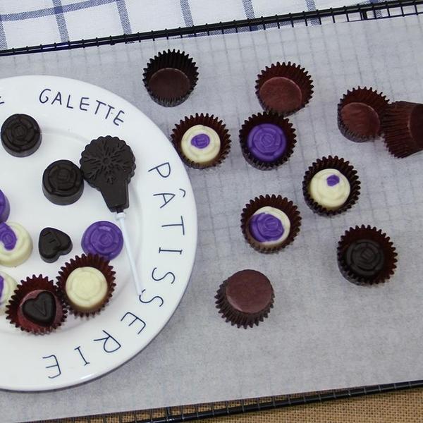 蛋糕杯 巧克力 迷你咖啡色紙托