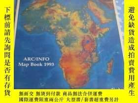 二手書博民逛書店ARC INFO罕見Map Book 1993Y26008 請見照片 請見照片 出版1995
