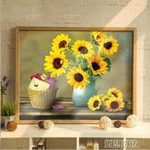 十字繡線繡滿繡客廳小幅花卉餐廳簡約現代臥室簡單繡     創想數位