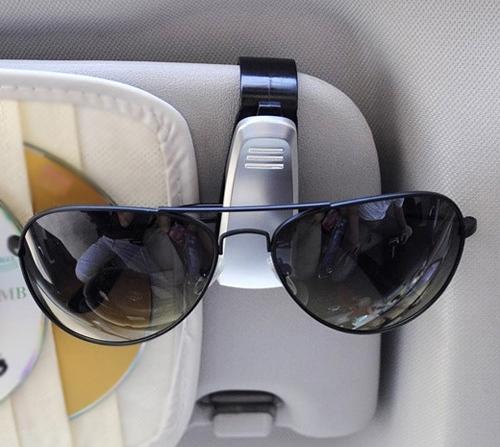 泰博思 汽車眼鏡夾 遮陽板眼鏡架 證件夾 汽車用品 太陽眼鏡架 車用鏡架【G0010】