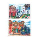 【收藏天地】台灣紀念品*明信片- 台北 (兩款) /文創 手帳 文具 禮品 小物 手冊