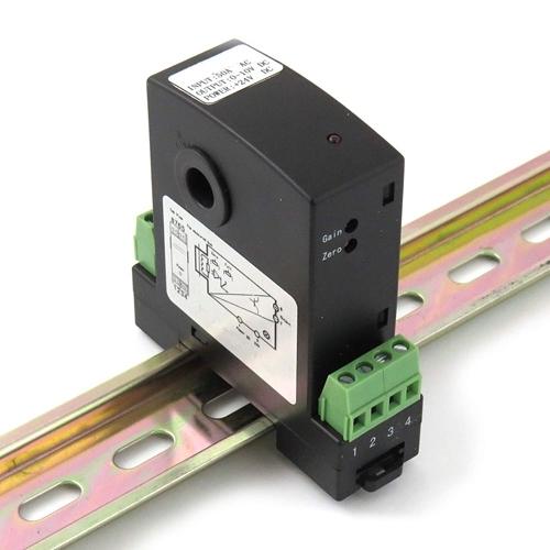 [2美國直購] denkovi 電流互感器 Current Transducer 0-10A DC In, 0-10V DC Out, DIN Mount