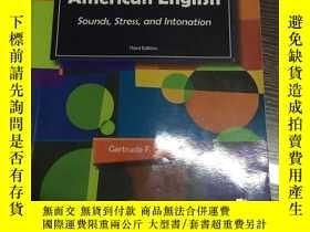 二手書博民逛書店Pronouncing罕見American English Sounds,stress,and Intonatio