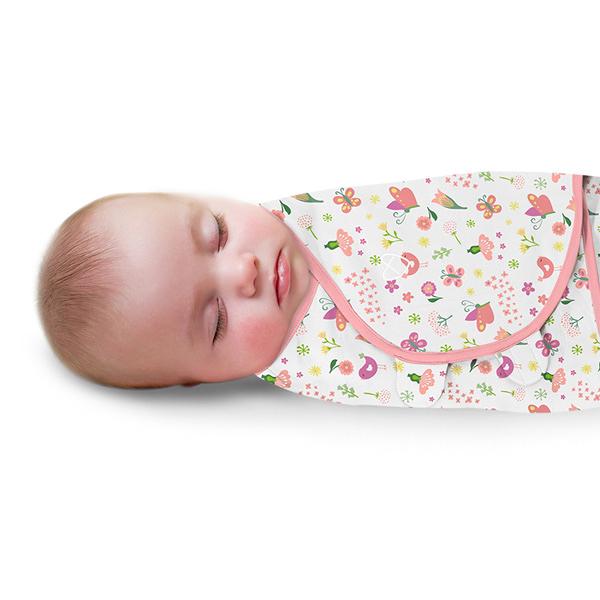 《美國Summer infant》聰明懶人育兒包巾-花香鳥語 ㊣原廠授權總代理公司貨
