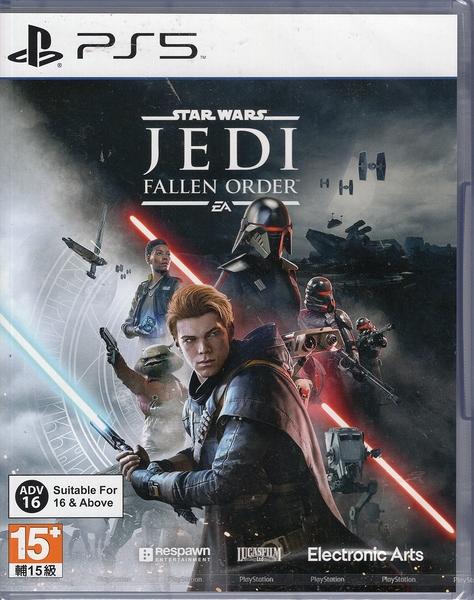 【玩樂小熊】現貨PS5遊戲 星際大戰 絕地 組織殞落 Star Wars Jedi: Fallen Order中文亞版