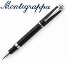 義大利Montegrappa萬特佳 Ducale 公爵系列 - 鋼珠筆 (黑色-銀夾) ISDURRPC / 支