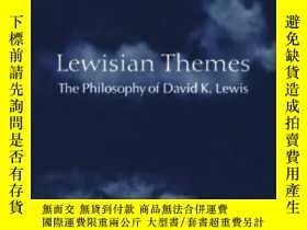 二手書博民逛書店Lewisian罕見Themes: The Philosophy