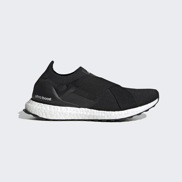 Adidas Ultraboost Slip On Dna W [GX5084] 女 慢跑鞋 運動 繃帶 緩震 包覆 黑