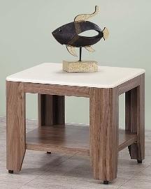 【南洋風休閒傢俱】時尚茶几系列-柚木色/胡桃色石面小茶几 邊几 沙發桌 咖啡桌 SB676-2-4