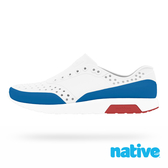 native 小童鞋 LENNOX 小雷諾鞋-白x藍x紅