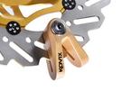 公司貨 KOVIX KVX 碟煞鎖 香檳色 送原廠收納袋+提醒繩 德國鎖心  重機可用14mm鎖心 機車鎖